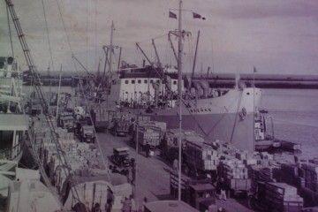 """El buque noruego """"Breñas"""", atracado en el puerto de La Luz y Las Palmas"""
