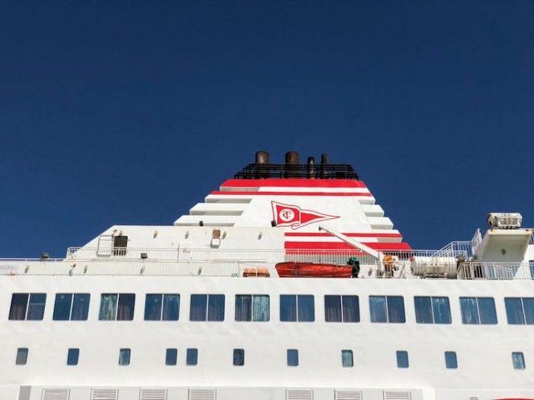 Trasmediterránea corresponde a su importancia en la línea marítima de Nador
