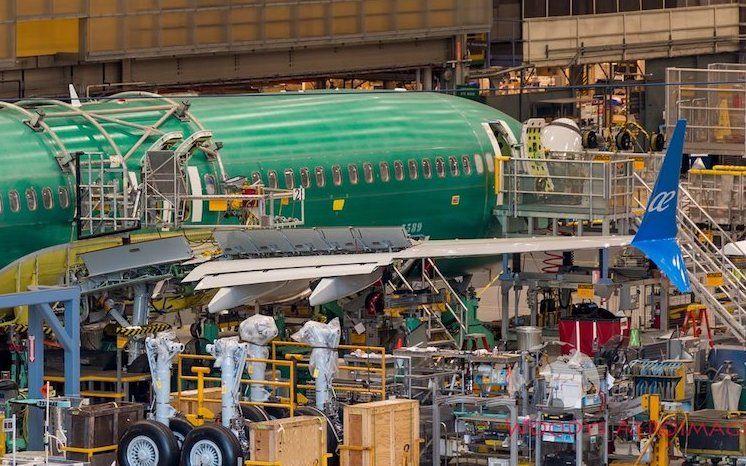 El segundo B-737 Max 8 de Air Europa se encuentra en la cadena de montaje