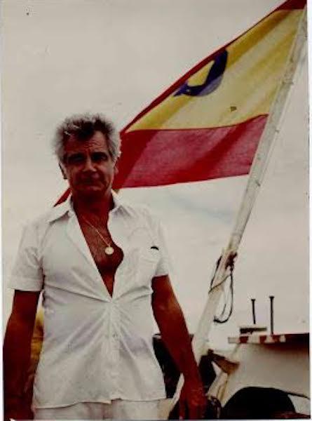 Francisco Onzáin, capitán de Trasatlántica