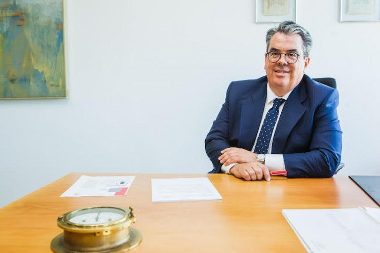Francisco Oviedo, director general de Trasmediterránea