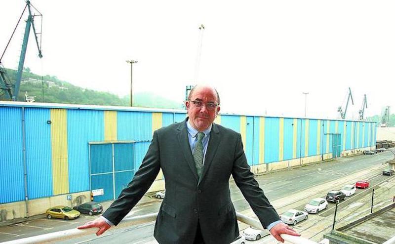 Félix Garcianadia, presidente de la Autoridad Portuaria de Pasaia
