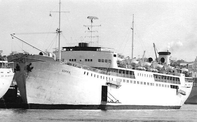 """El buque """"Sophia"""", resultado de la transformación del petrolero """"Soya Birgitta"""""""