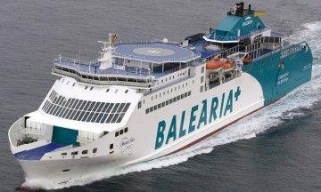 """El ferry """"Martín i Soler"""", a la línea Almería-nador durante la OPE 2019"""