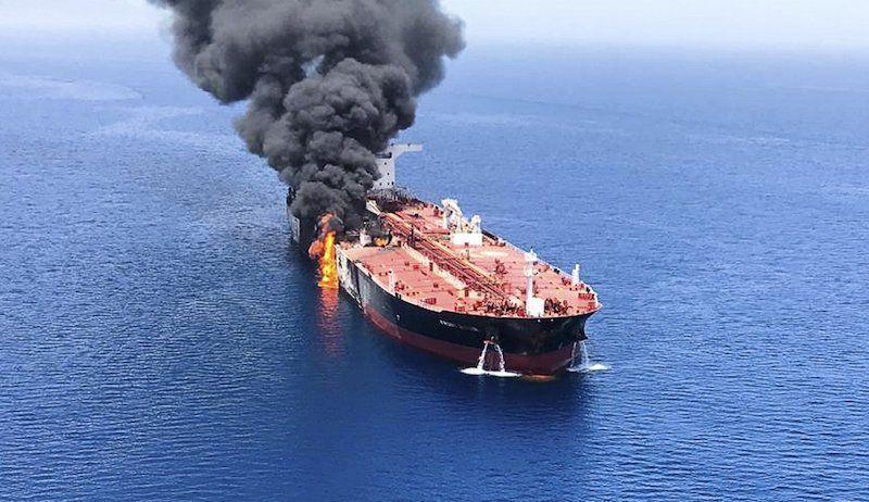 """El petrolero """"Front Altair"""" ha sido el más afectado por el ataque"""