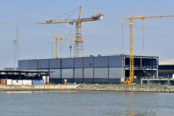 Estado de la construcción C-229 de Visentini para Trasmediterránea