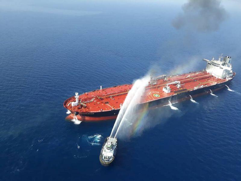 """El incendio en el petrolero """"Front Altair"""" ya esta controlado"""