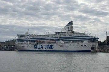 """El buque """"Silja Sderenade"""" es uno de los mayores ferries del mundo"""