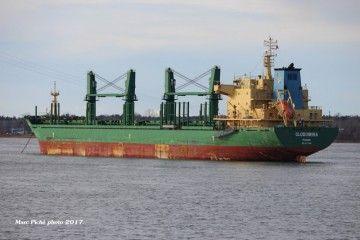 """El buque """"Clodomira"""" es un handymax construido en 2011"""