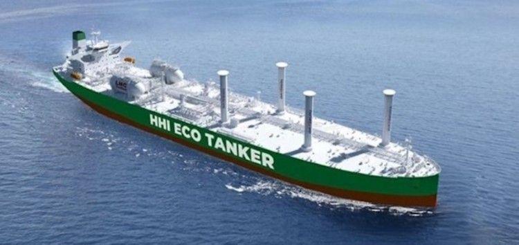 Lloyd's Register ha dado el visto bueno inicial al proyecto del Eco Tanker presentado por HHI