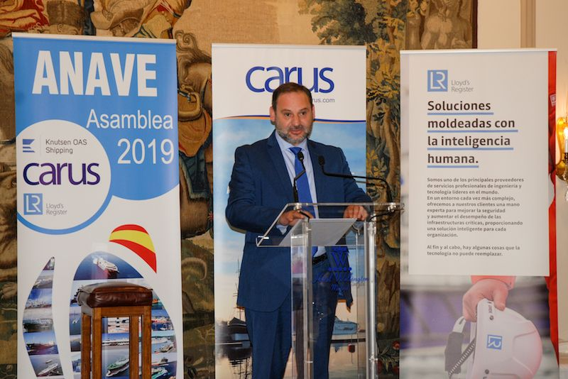 El ministro Ábalos asistió a la asamblea general de ANAVE