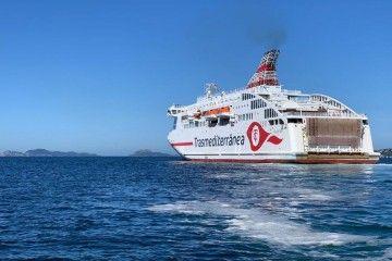 """El ferry """"Villa de Teror"""" es el más moderno de Europa en su clase"""