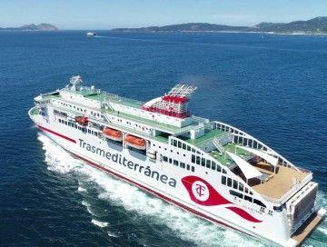"""El buque """"Villa de Teror"""" es la gran novedad este año en la OPE 2019"""