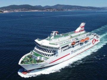"""El ferry """"Villa de Teror"""" es la gran novedad este año en la OPE 2019"""