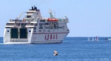 """El ferry """"Volcán de Taburiente"""" volverá por tercera vez a Tazacorte"""