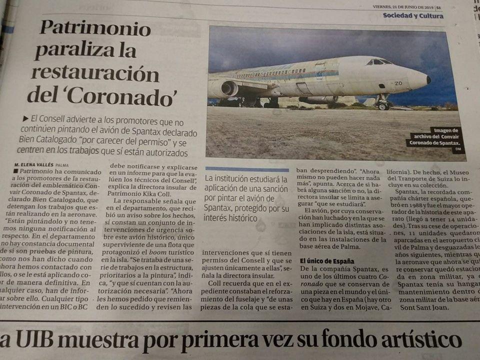 Lo publicado hoy en la prensa de Mallorca