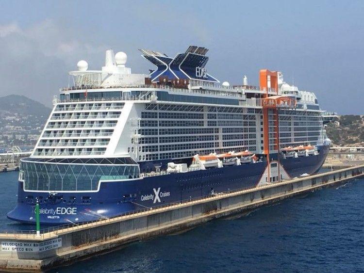 """El buque """"Celebrity Edge"""" tiene un aspecto llamativo"""