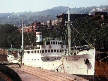 """El buque """"Consulado de Bilbao"""", en sus años de esplendor"""