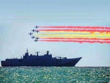 "La presencia del buque LHD ""Juan Carlos I"" en Vigo ha despertado un gran interés"
