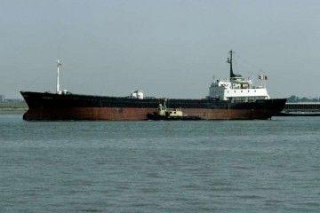 """El buque """"Gaviota"""", visto por la banda de estribor"""