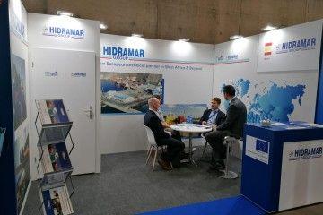 El stand de Hidramar y Tenerife Shipyards está ubicado en el Pabellón de España