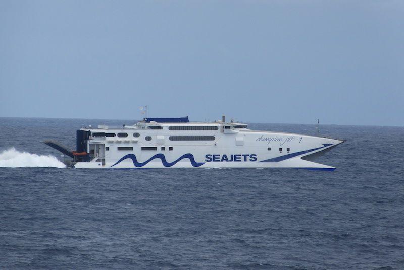 "El catamarán ""Champion Jet 1"" pasará a la línea de Melilla"