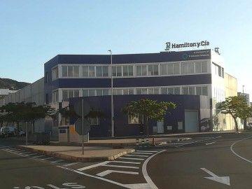 Sede de Hamilton y Cía. en el puerto de Las Palmas de Gran Canaria