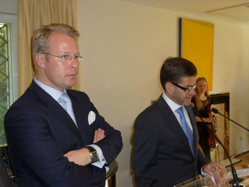 Junto a Pekka Tolonen, fiel y leal colaborador desde su responsabilidad en FINPRO