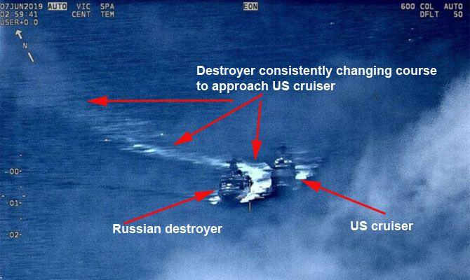 Descripción de la maniobra de acercamiento entre ambos buques