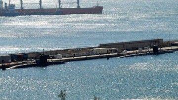 Los submarinos nucleares, atracados en la base naval de Gibraltar
