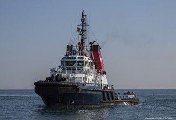 """Estampa marinera del remolcador """"VB Muletón"""""""