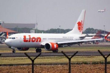 Imagen del avión B-737 Max de Lion Air perdido en accidente