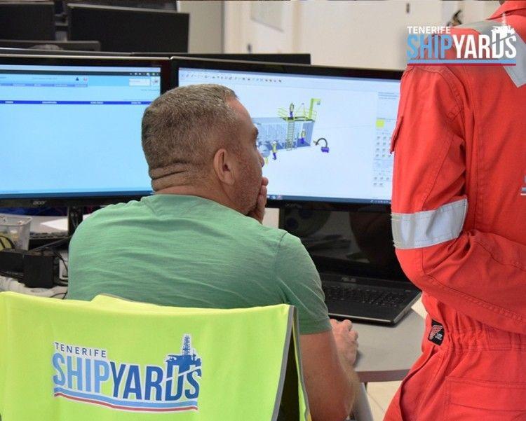 Tenerife Shipyards tiene un reconocido prestigio profesional internacional