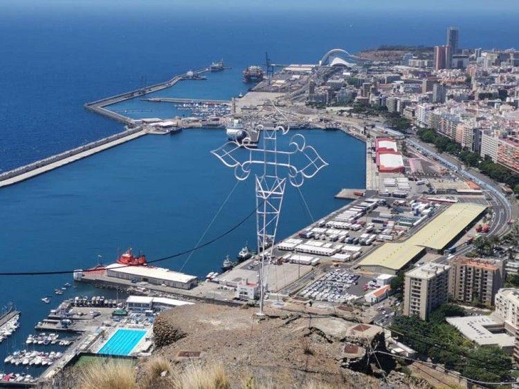 Los resultados del primer semestre para el puerto de Santa Cruz de Tenerife no han podido ser peores