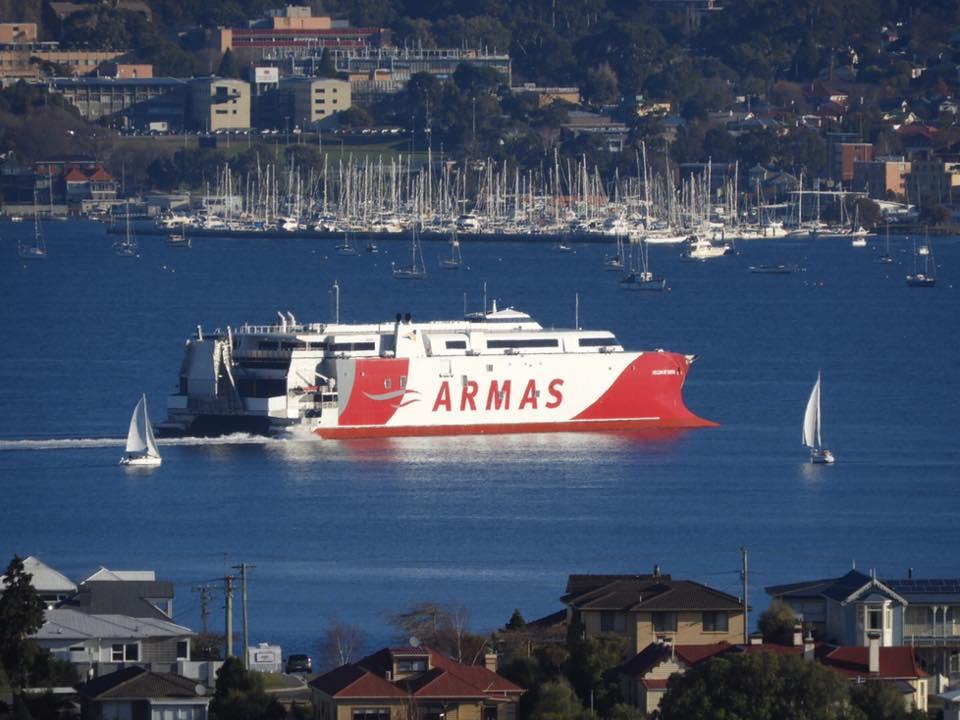 Las pruebas se realizan en el entorno de Hobart, Tasmania