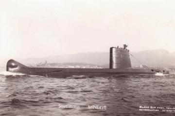 """Este es el submarino """"Minerve"""", hundido en 1968"""