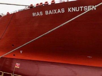"""El nuevo buque ostenta el nombre de """"Rías Baixas Knutsen"""""""