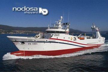 """El buque """"Argos Cíes"""", construido por Nodosa, Buque del Año 2018"""