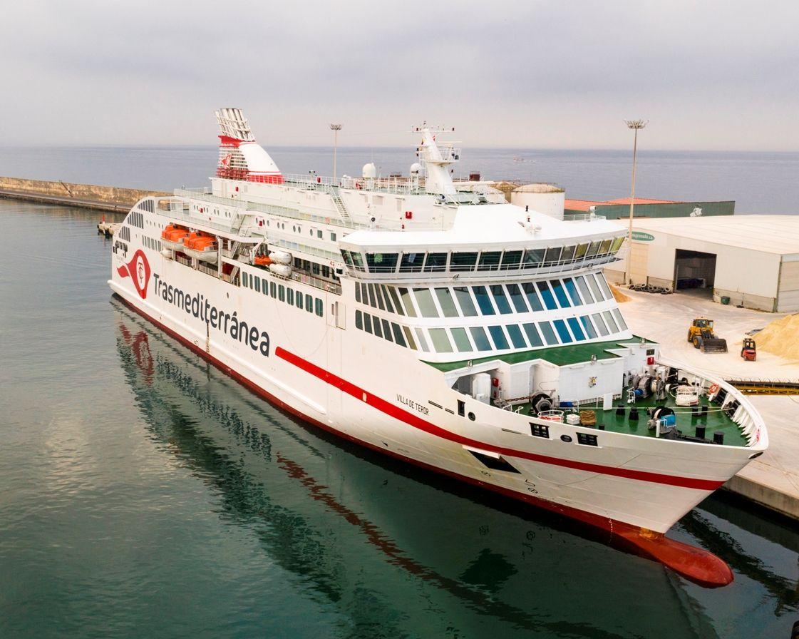"""El buque """"Villa de Teror"""" tiene su origen en el proyecto Viking ADCC para Viking Line"""