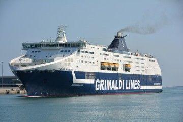 """El buque """"Cruise Barcelona"""", a su llegada a Barcelona"""