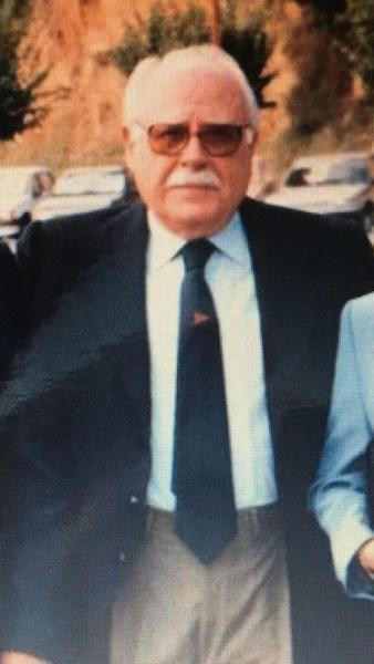 Anselmo Carvajal, en los años de su jubilación