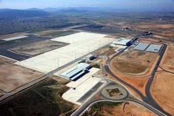 Panorámica del aeropuerto de Ciudad Real