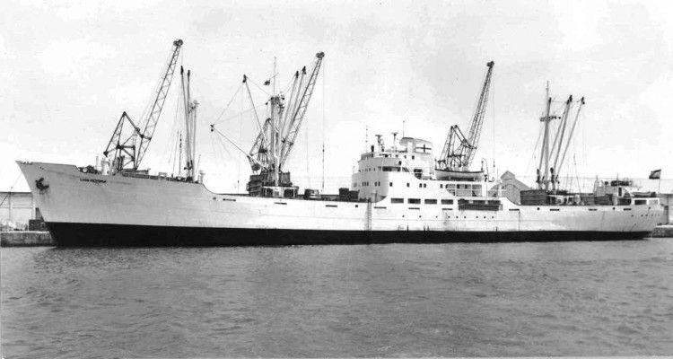 """El buque """"Lago Victoria"""", atracado en el puerto de Valencia"""