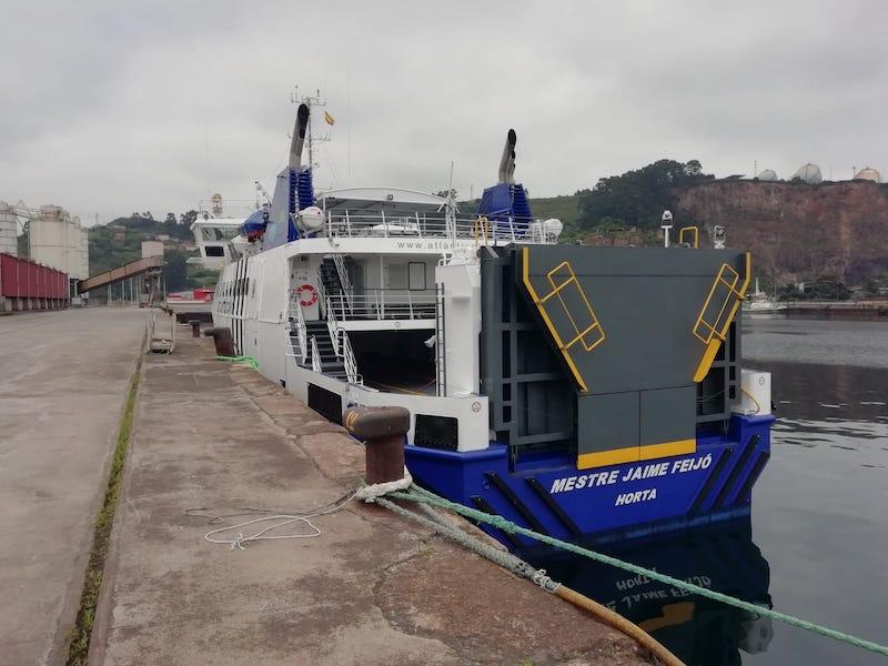 El nuevo buque releva a otro anterior perdido en accidente de mar