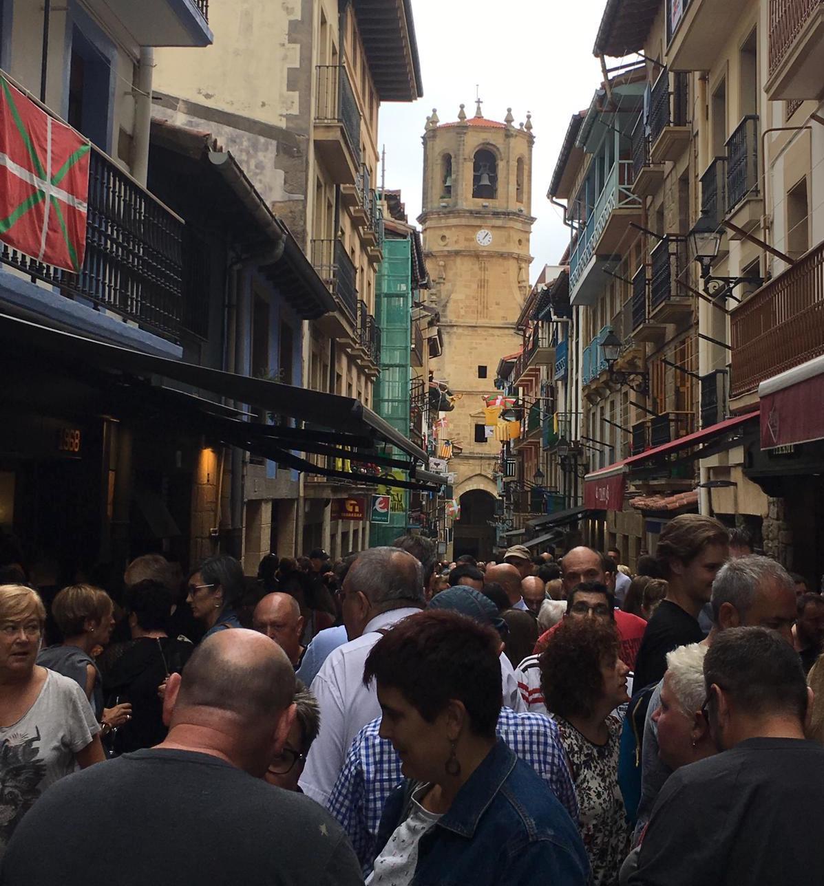 El casco histórico de la localidad registra una gran afluencia de público