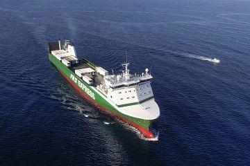 """El buque rolón """"Miramar Express"""", fletado por cuatro meses a Cotunav"""