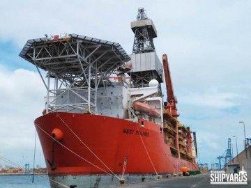 """La reparación en el buque """"West Polaris"""" se ha cumplido en plazos"""