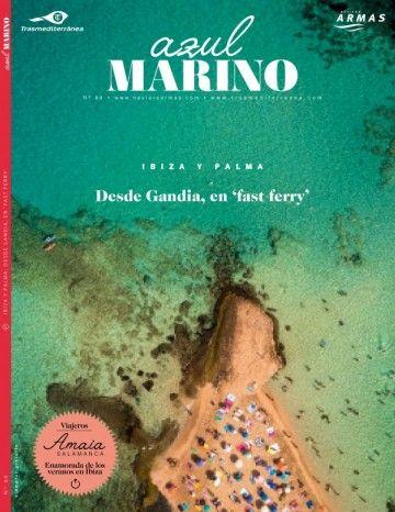 """Portada del número 89 de la revista """"Azul Marino"""""""