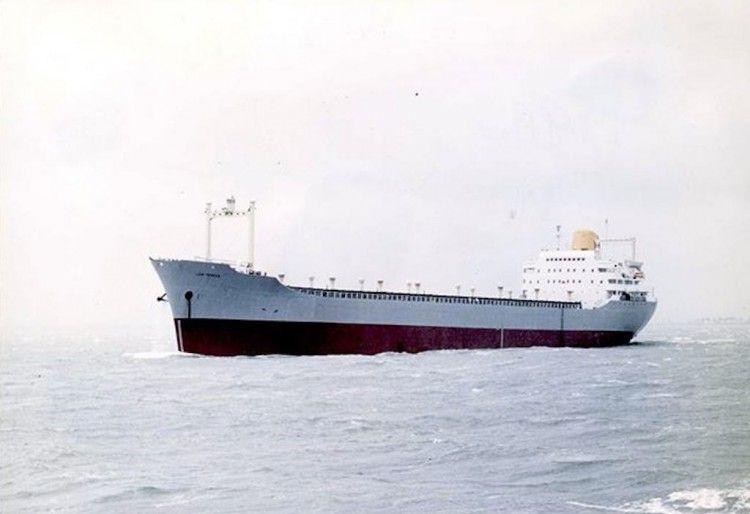 """El buque """"Luis Pereda"""", en pruebas de mar"""