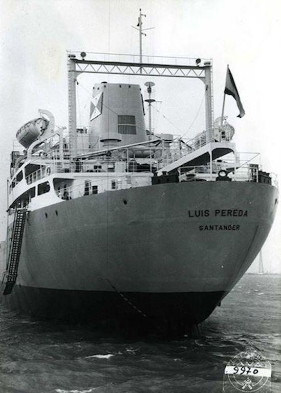 Durante toda su vida marinera perteneció a la matrícula naval de Santander